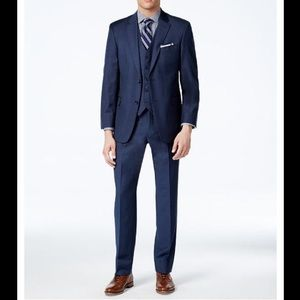 Suit Collection - Tommy Hilfiger Men's Modern-Fit